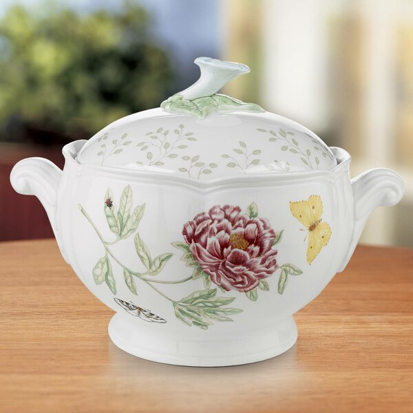 Butterfly Meadow Round Casserole by Lenox