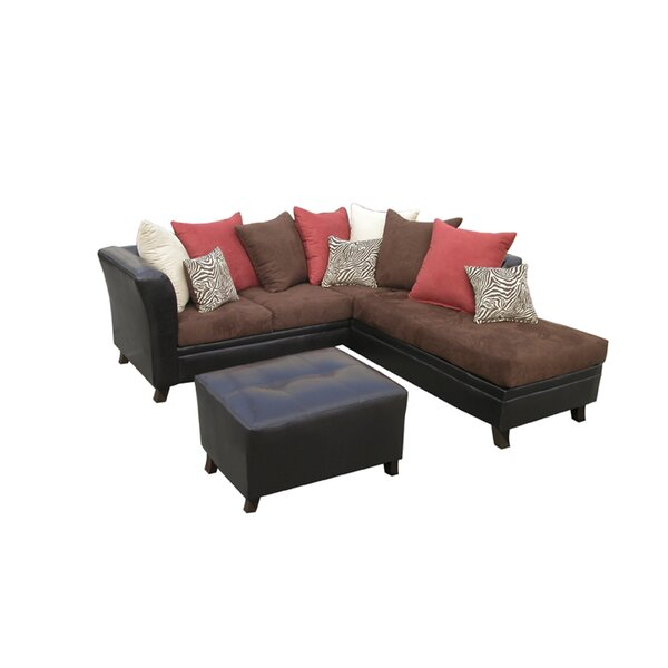 Alfheim Right Hand Facing Sectional With Ottoman By Red Barrel Studio