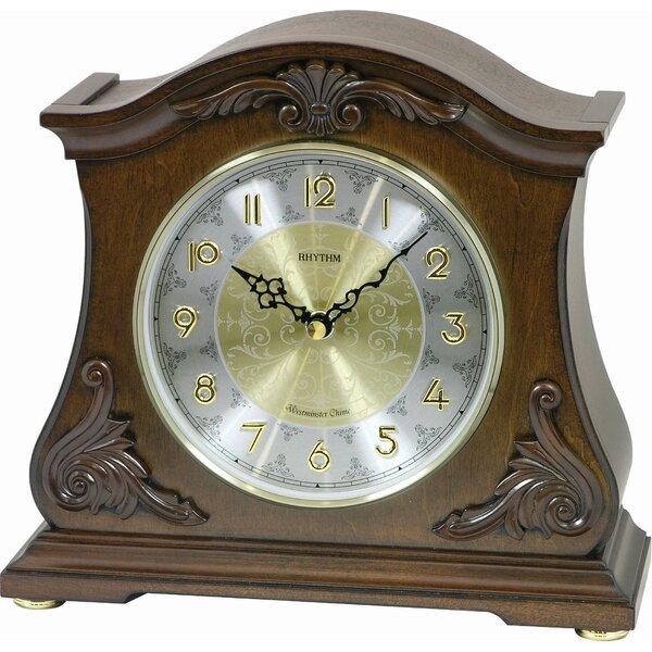 WSM Versailles Mantel Clock by Rhythm U.S.A Inc