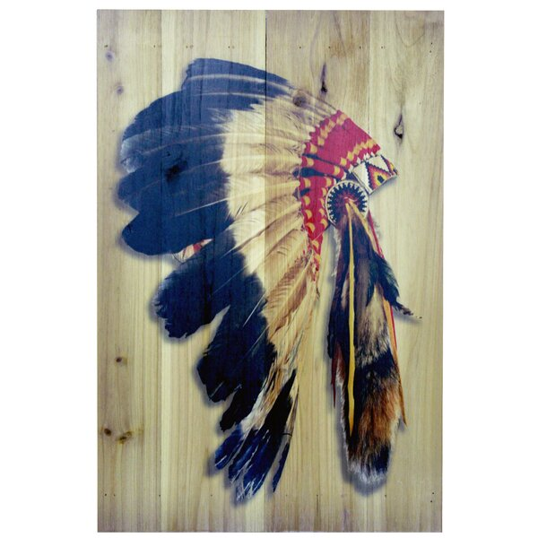 Graphic Art Print on Wood by Loon Peak
