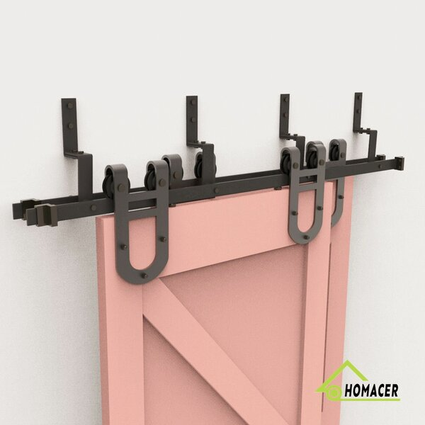Horseshoe Barn Door Hardware by Homacer