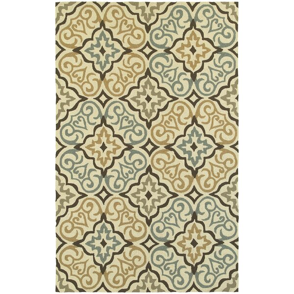 Atrium Floral Lattice Indoor/Outdoor Area Rug by Tommy Bahama Home
