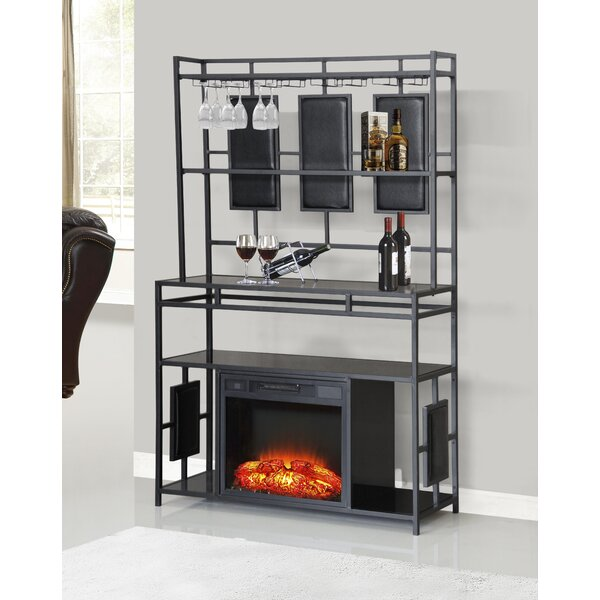 Lobo Fireplace by Latitude Run