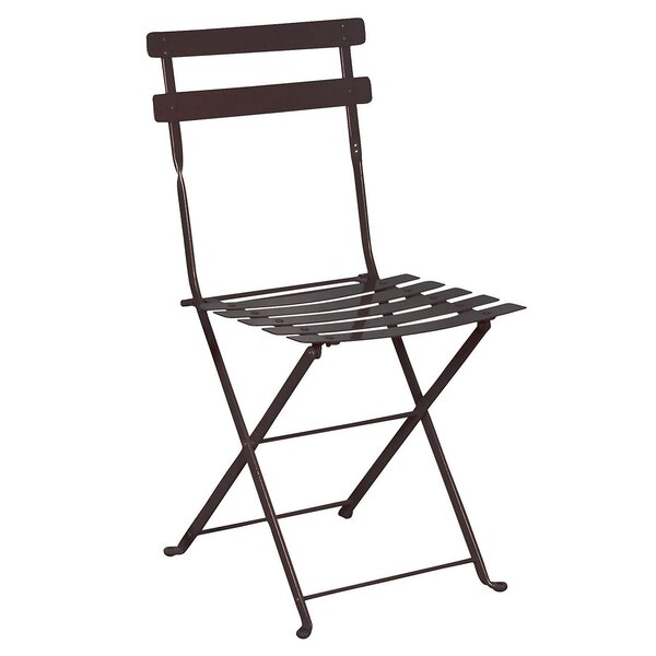 Candido Folding Patio Dining Chair (Set of 2) by Latitude Run