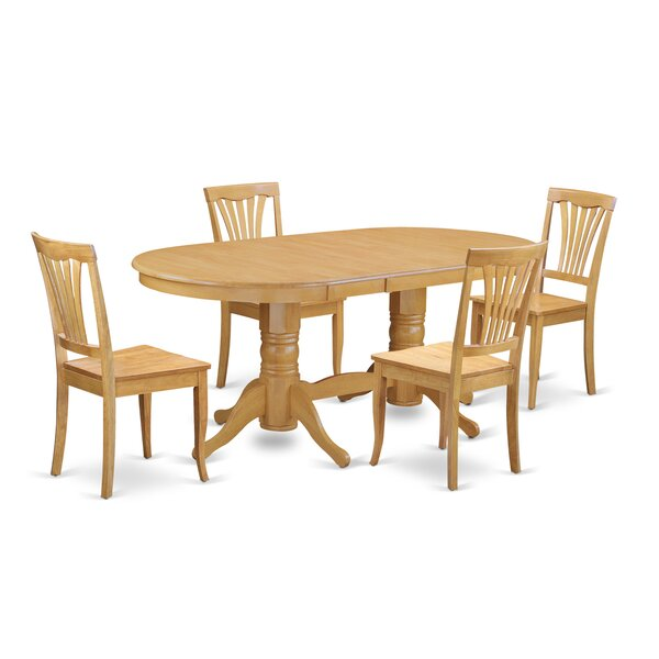 Rockdale 5 Piece Extendable Dining Set by Darby Home Co