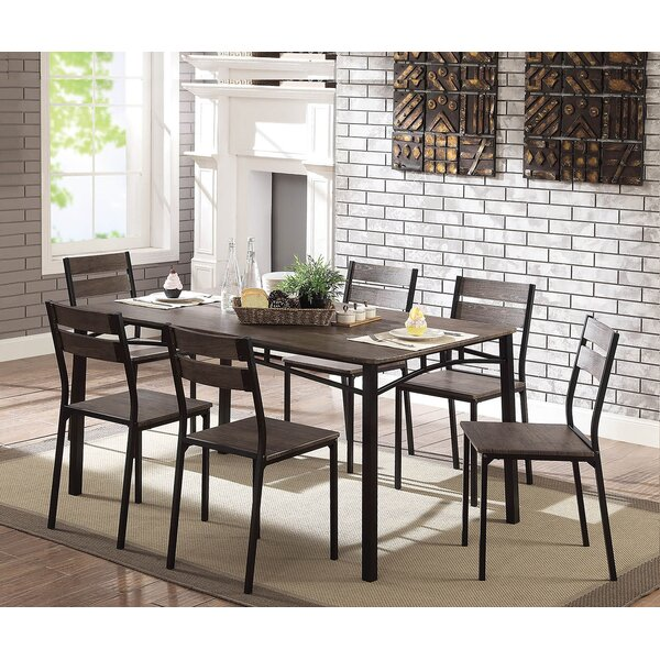 Tunstall 7 Piece Extendable Dining Set by Williston Forge