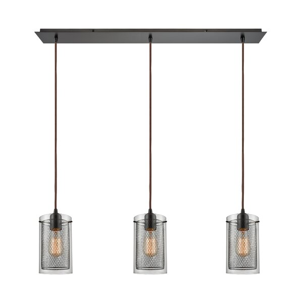 Acacia 3-Light Kitchen Island Pendant by 17 Stories