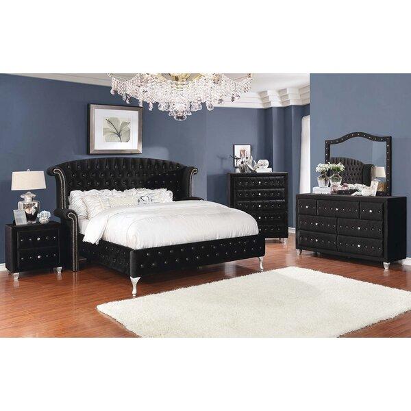 Guidry Upholstered Platform Configurable Bedroom Set by Mercer41