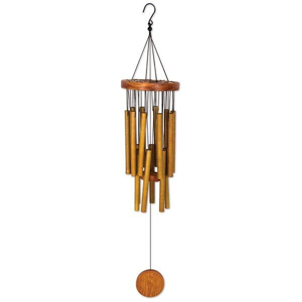 Circle Bamboo Wind Chime by Sunset Vista Designs Co.