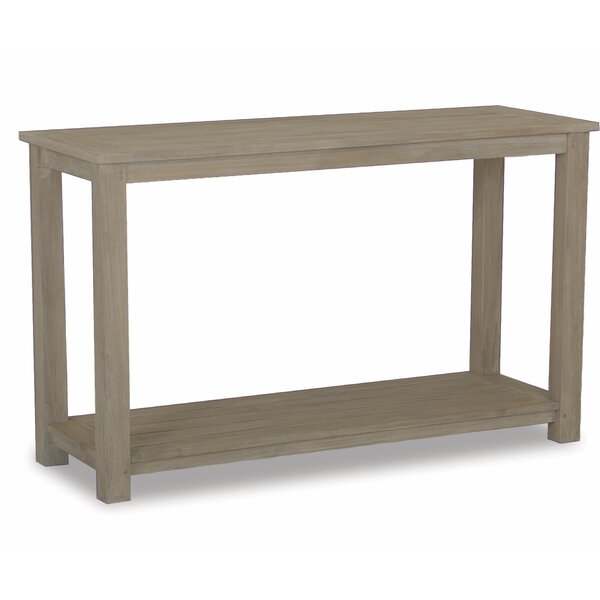 Sofa Table In Coastal Teak by Sunset West