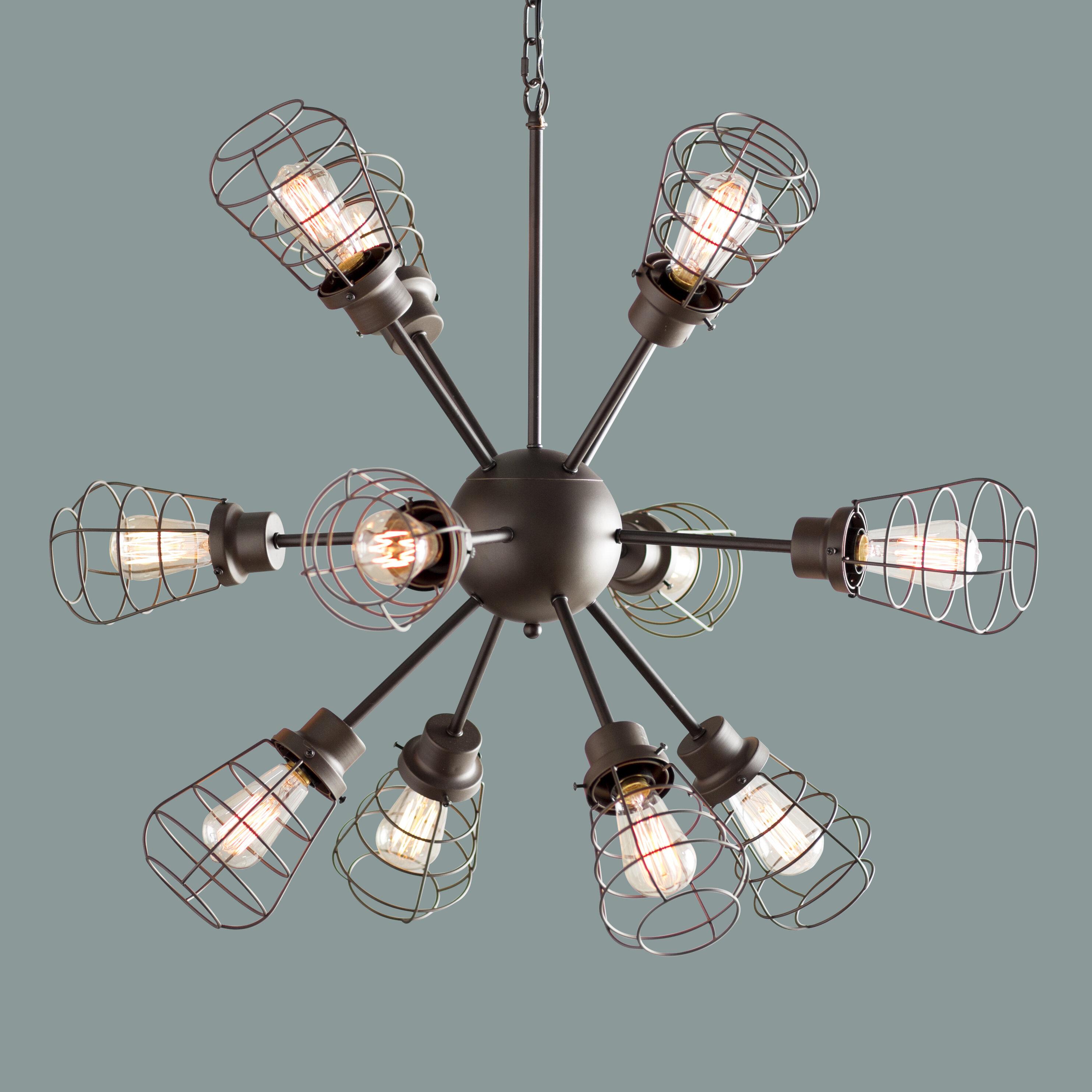 Trent Austin Design Anso 12-Light Sputnik Chandelier   Wayfair
