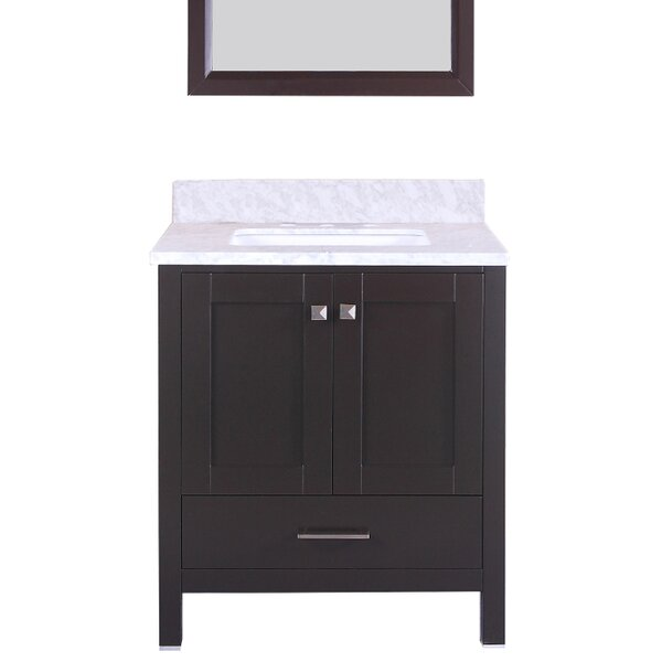 Arnab Transitional 30 Single Bathroom Vanity Set by Latitude Run