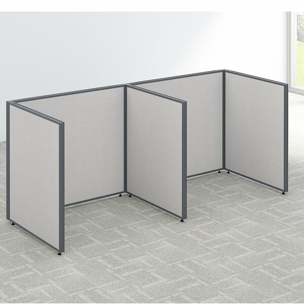 ProPanel 2 Person Open Cubicle Configuration by Bush Business Furniture