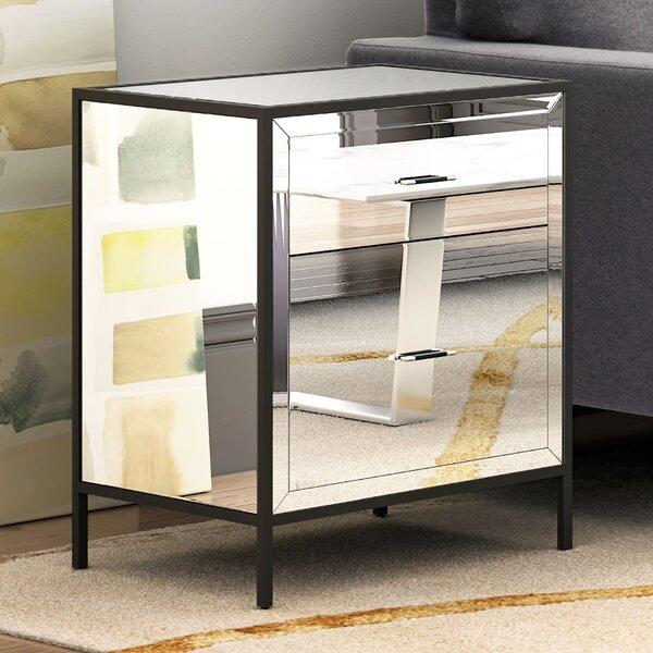 Heuer End Table with Storage by Brayden Studio