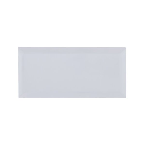Mirror 3 x 6 Glass Subway Tile in Gray by Multile