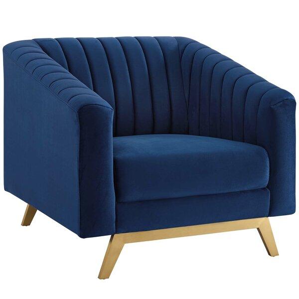 Cusack Vertical Armchair by Mercer41 Mercer41