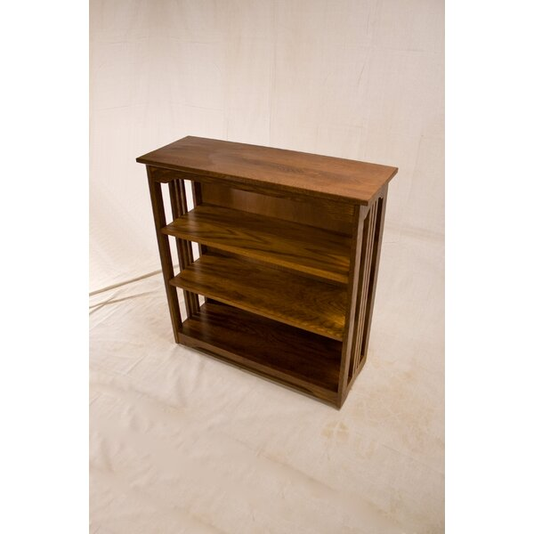 Stephon 3 Shelf Spindle Standard Bookcase By Loon Peak
