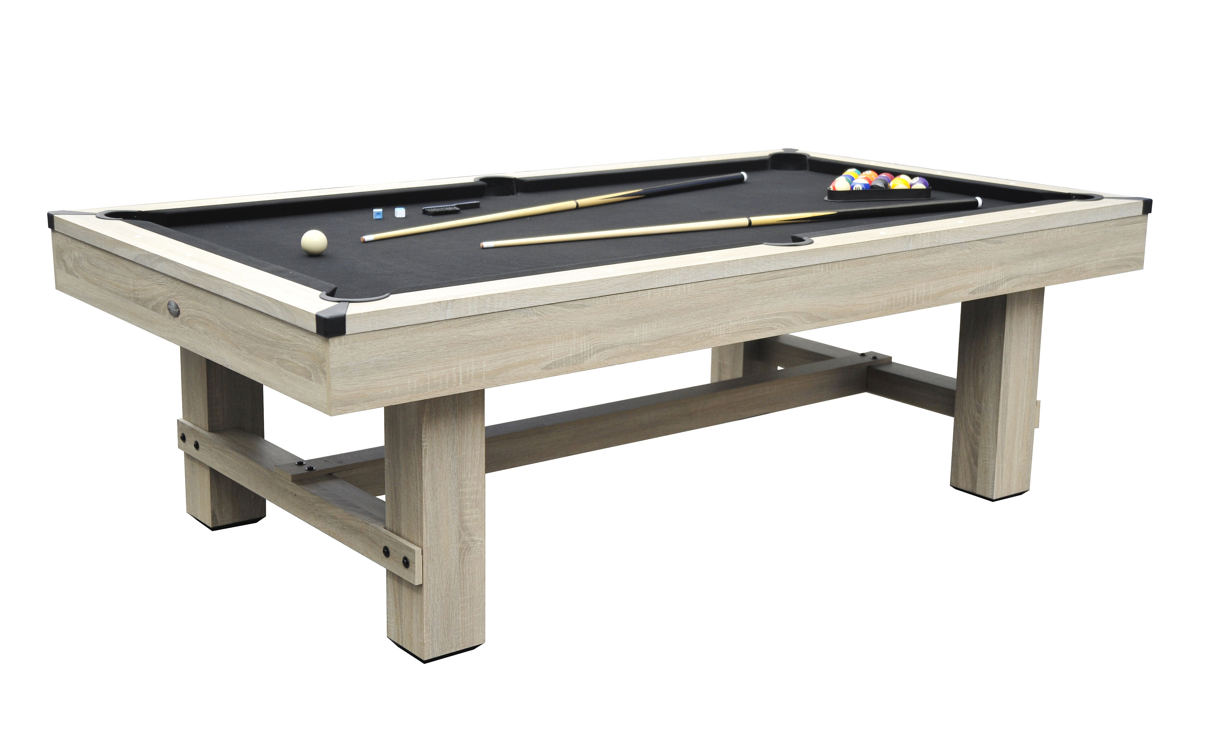 Playcraft Bryce Pool Table Reviews Wayfair - How much room for a pool table