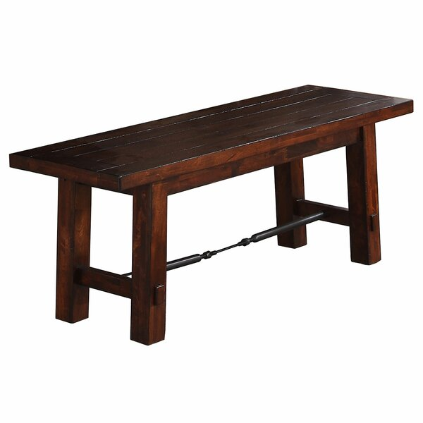 Seiling Wood Bench by Loon Peak