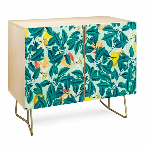 83 Oranges Lemon Accent Cabinet by East Urban Home East Urban Home