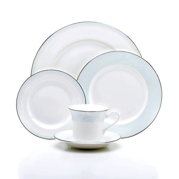 Dover Bone China 5 Piece Place Setting Set, Service for 1 by Oneida