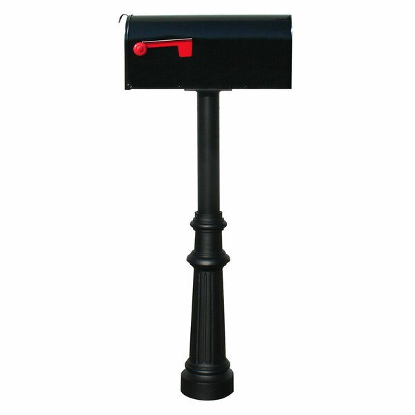 Hanford Mailbox with Post Included by Qualarc