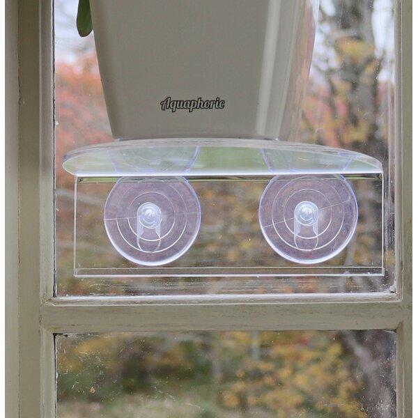 Veg Ledge Suction Cup Window Shelf by Window Garden