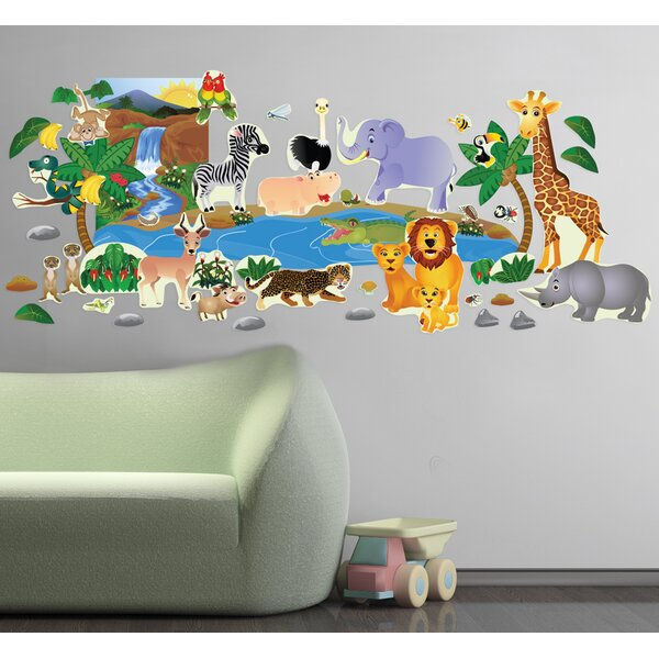 Jungle Plus Wall Decal by Mona Melisa Designs