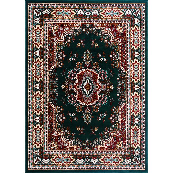 Ingham Green Area Rug by Charlton Home