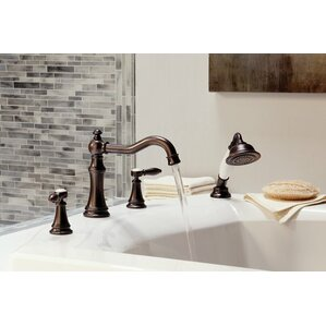 Roman Tub Spout With Diverter. Weymouth Two Handle Diverter Roman Tub Faucet Moen Moss  Wayfair
