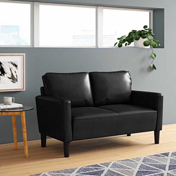 Ashbaugh Upholstered Loveseat by Ebern Designs