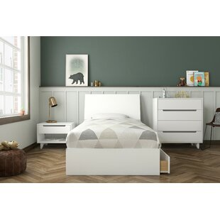 Alaysia Twin Platform 4 Piece Bedroom Set By Harriet Bee