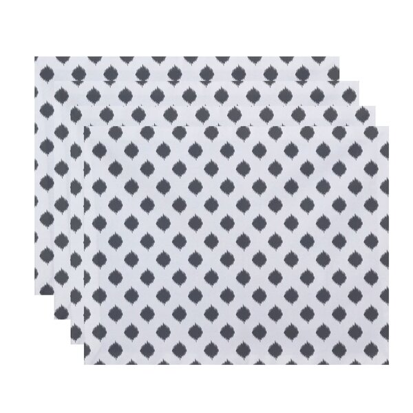 Combs Geometric Placemat (Set of 4) by Ivy Bronx