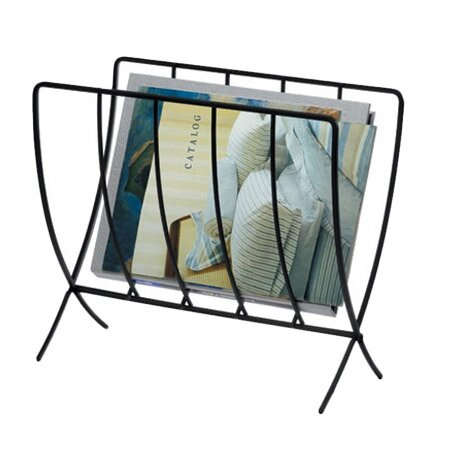 Folding Magazine Rack by Rebrilliant