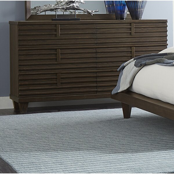 Wolak 6 Drawer Double Dresser by Union Rustic