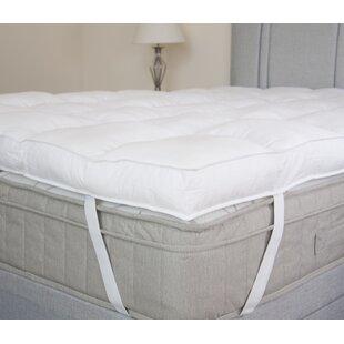 firm mattress topper. delighful topper lancashire 1016 cm hollowfibre mattress topper and firm