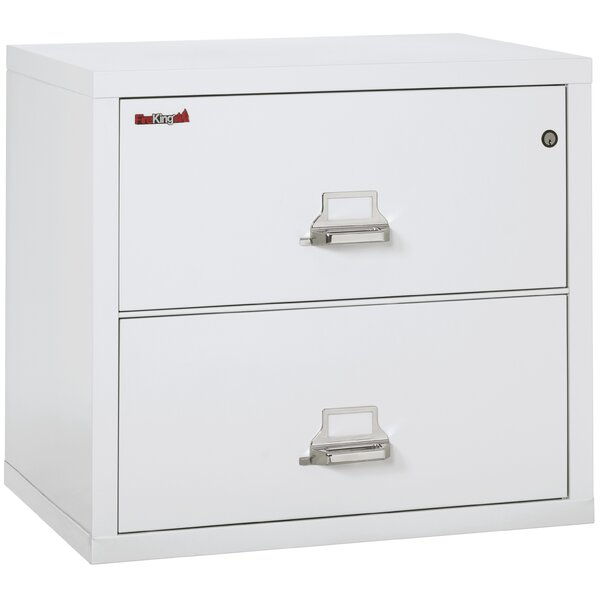 Fireproof 2 Drawer Lateral Filing Cabinet
