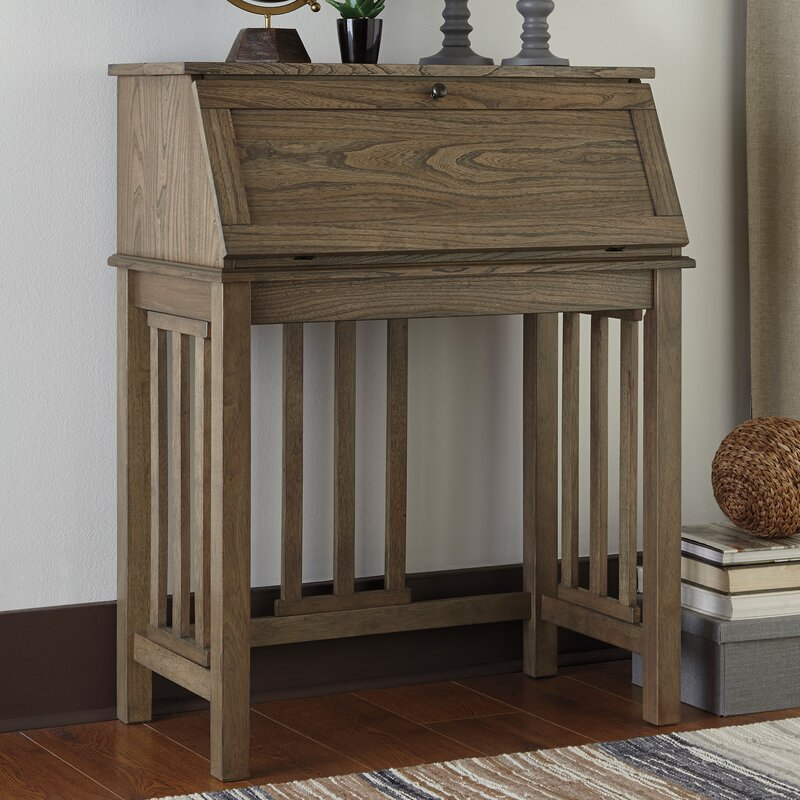 Springport Drop Front Secretary Desk
