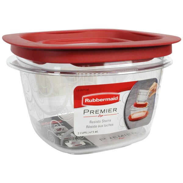 Premier Square 16 Oz. Food Storage Container by Rubbermaid