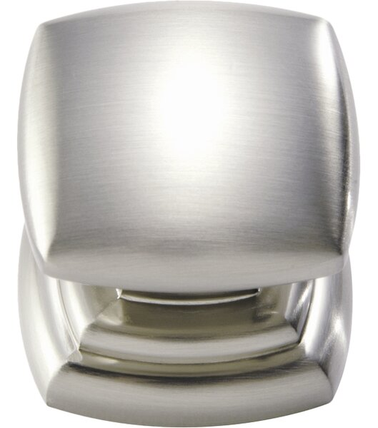 Euro Contemporary Square Knob by Hickory Hardware