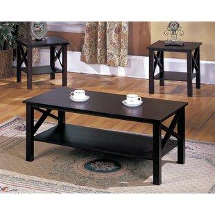 Zelda 3 Piece Coffee Table Set Andover Mills