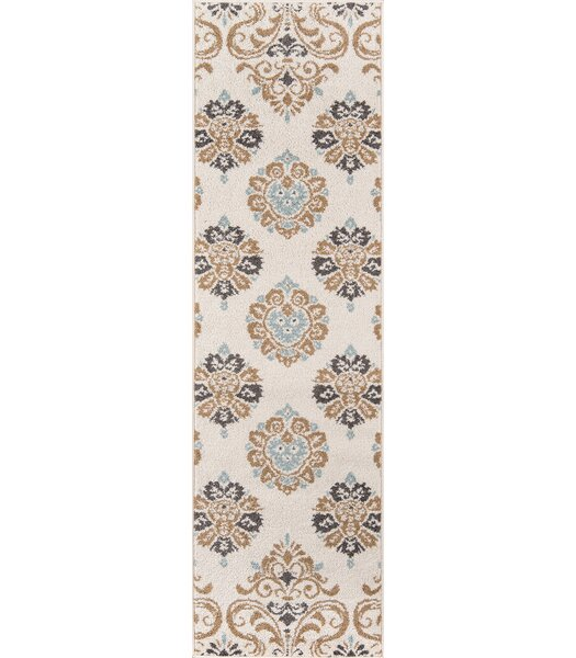 Suffield Ivory Area Rug by Bungalow Rose