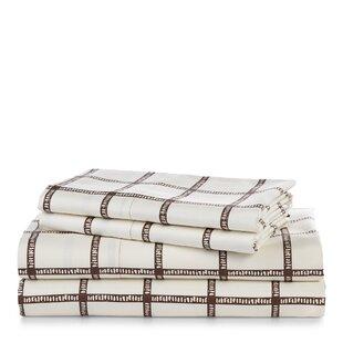 Affordable Dorian Windowpane Sheet Set ByLauren Ralph Lauren