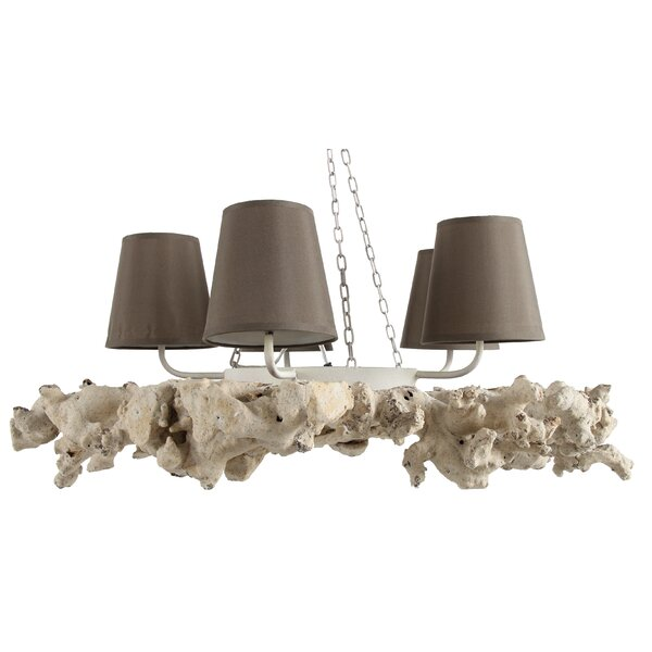 Coleman 4-Light Shaded Classic / Traditional Chandelier By Highland Dunes