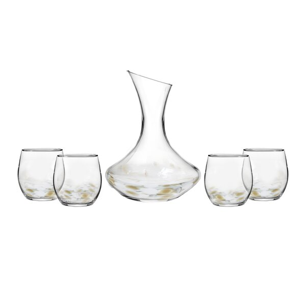 Simone 5 Piece Beverage Serving Set by Fitz and Floyd