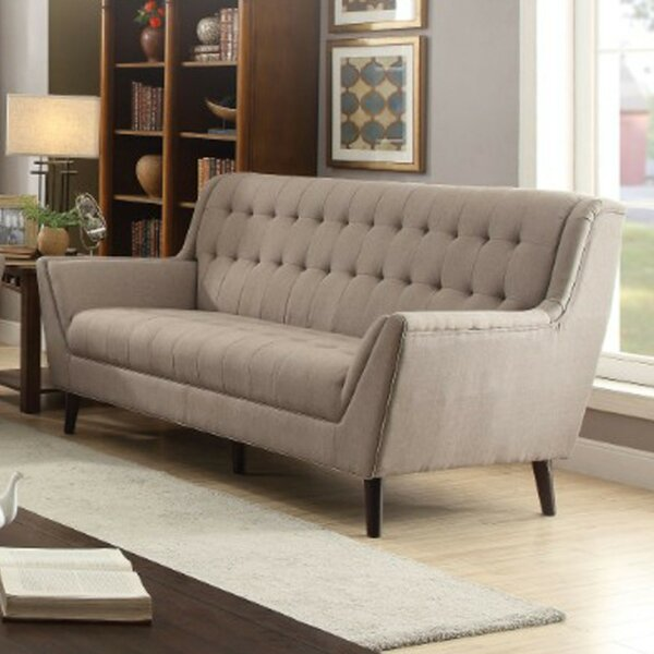 The Most Stylish And Classic Faris Upholstered Sofa by George Oliver by George Oliver