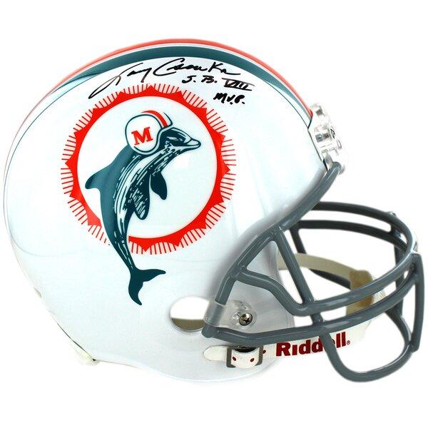 Decorative Larry Csonka Miami Dolphins 1972 Model Authentic Helmet by Steiner Sports