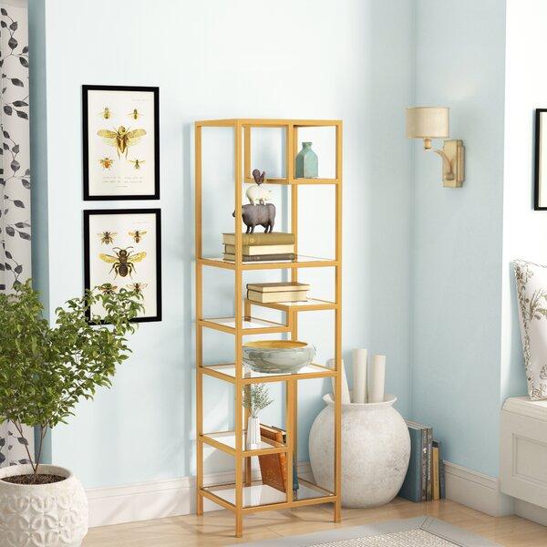 Osiris Geometric Bookcase By Willa Arlo Interiors