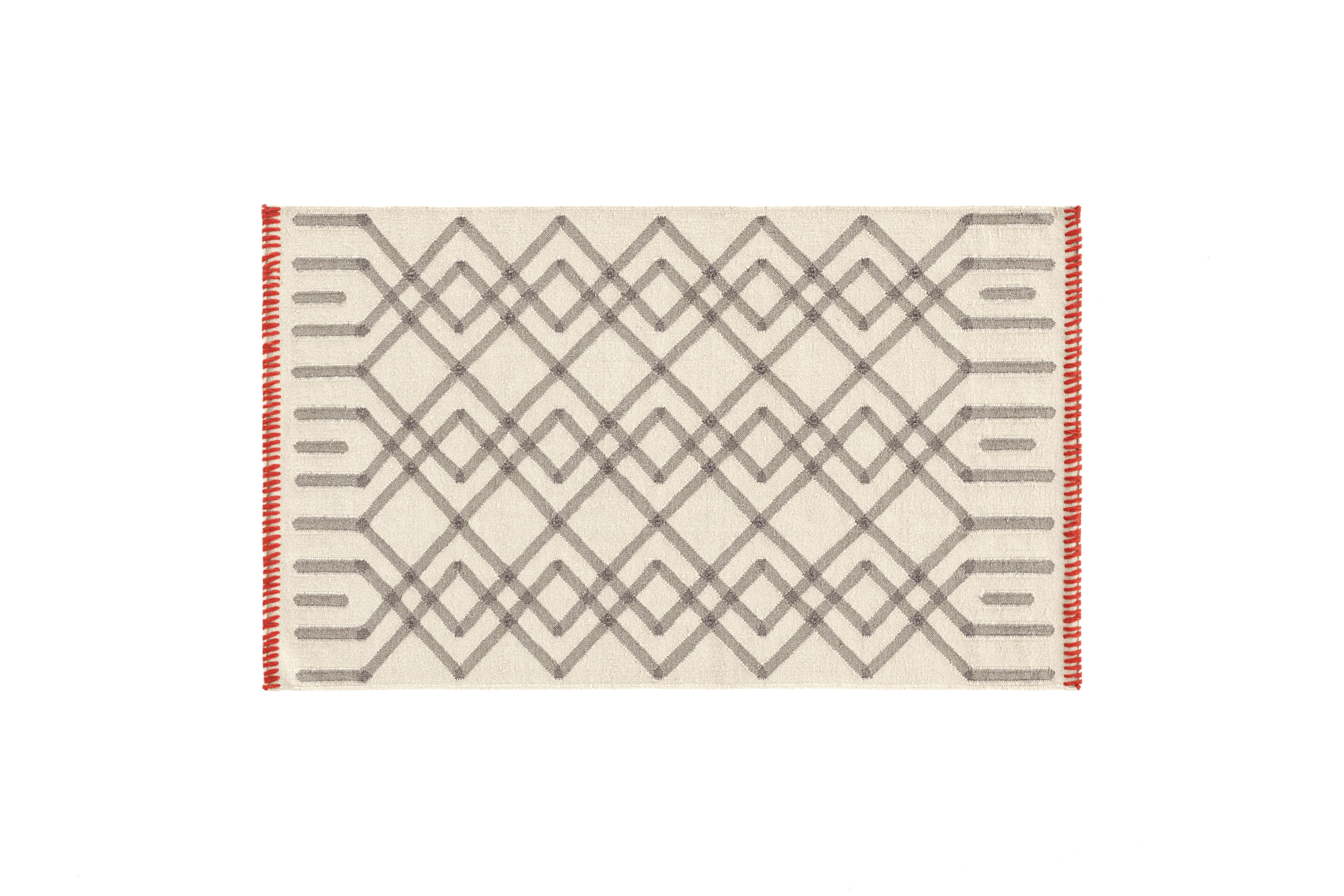 Gandia blasco duna handmade kilim wool gris area rug wayfair