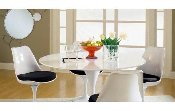 Modern Kemble Marble 5 Piece Dining Set By Latitude Run No Copoun